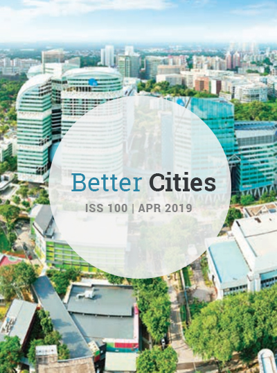 Better Cities Issue 100 Cover